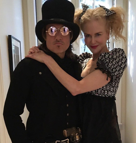Keith Urban & Nicole Kidman - Halloween 2017