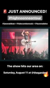 Jason Aldean Tour Announcements