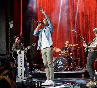 Brett Young at Opry City Stage