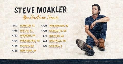 Steve Moakler Tour