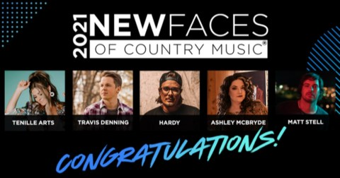 New Faces CRS 2021