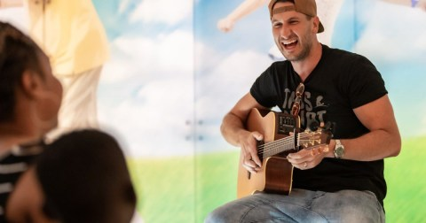 Russell Dickerson is a long-time friend and supporter of St. Jude Children's Hospital