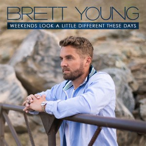 """Brett Young's new song, """"Weekends Look A Little Different These Days"""" is available now, June 4th, on all streaming platforms"""