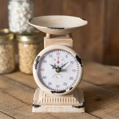 Rustic Kitchen Clock Cabinet Hardware Ideas Small Scale Countryvintagehome Com