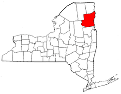 Radon levels for Essex County