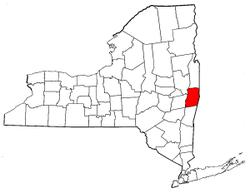 Radon levels for Rensselaer County