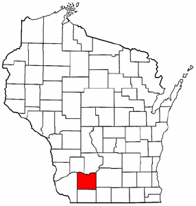 Radon levels for Iowa County