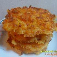 squash fritters (ukoy kalabasa)