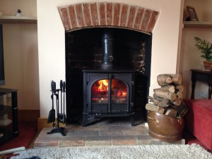 Stovax Stockton 8 multi fuel stove with back boiler