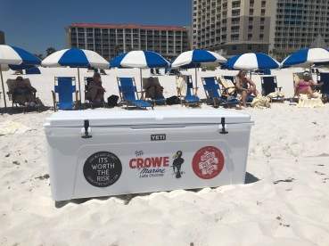 All Attendees will get FREE BEACH CHAIRS & Umbrellas to include CFT Coffin Cooler with limited drinks and space for additional items