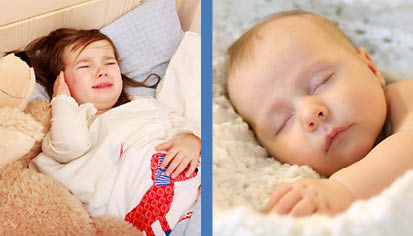 Osteopath treatment for children and babies