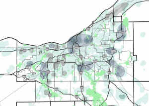 map of employment concentration