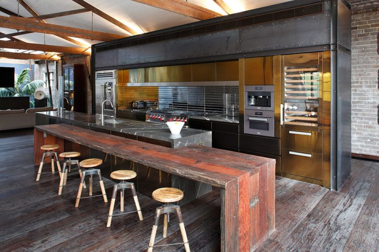 County View Contracting 59 Cool Industrial Kitchen Designs That