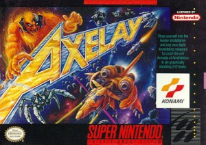 Box art for Axelay