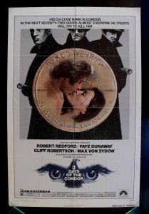 Movie Poster for Three Days of the Condor