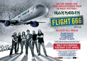 Movie Poster for Iron Maiden: Flight 666