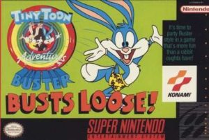 Box art for Tiny Toon Adventures - Buster Busts Loose