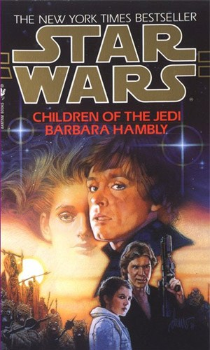 Book cover for Children of the Jedi
