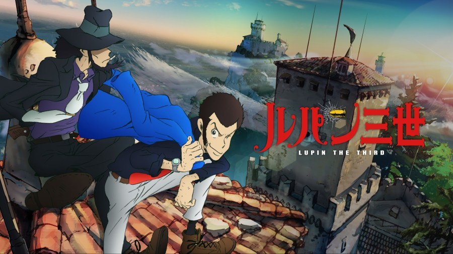 Promotional art for Lupin the Third Part IV