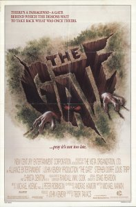 "Movie poster for ""The Gate"""