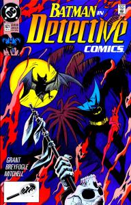 Cover of Detective Comics #621