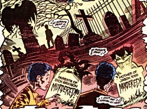 Tim Drake has a nightmare on the parents of dead Robins.