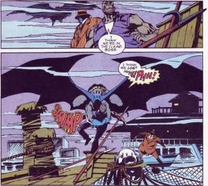 Batman attacks Tattoo.