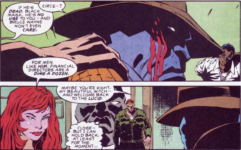 Circe talks down Black Mask.