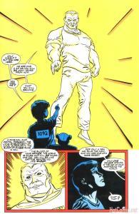 Bane dreams his future self.