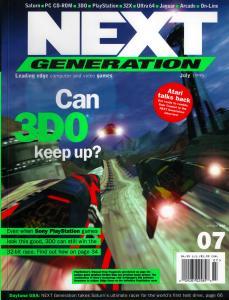 Cover of NextGen #7.