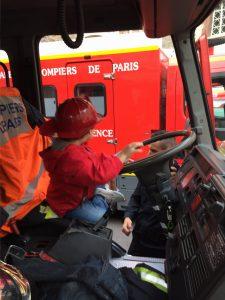 chez les pompiers