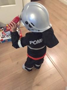 dégusiement pompier