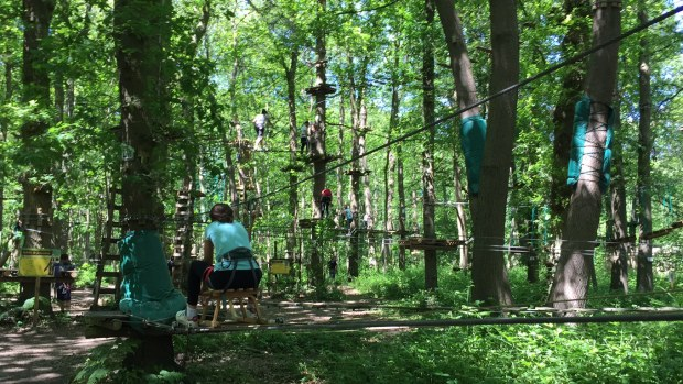 Sherwood Parc accrobranche