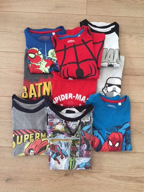 t-shirts super-héros