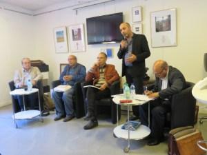 groupe des présentateurs de l'ouvrage
