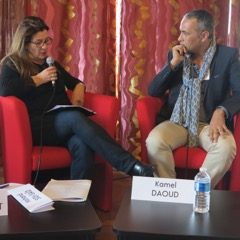 Au Maghreb des livres 2017, Kamel Daoud converse avec Catherine Dupont-Humbert