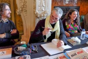 Gyps à la table des dessinateurs