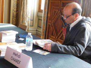 Mehdi Charef en signature