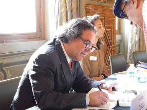 Amine Zaoui en signature