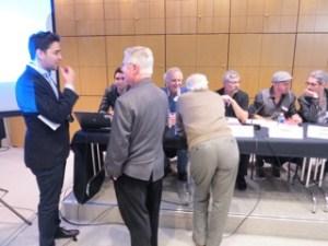 J-B Gaillard et G. Morin: les organisateurs aux manettes