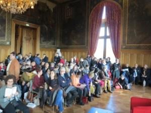 au salon J-P Laurens, le public