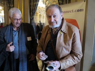 Karim DJEBIBA avec Henri POUILLOT (historien de la villa Susini)