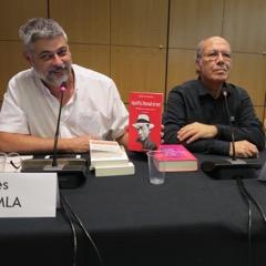 """Yves Chemla, avec """"ses"""" auteurs"""