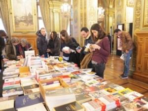 librairie, table