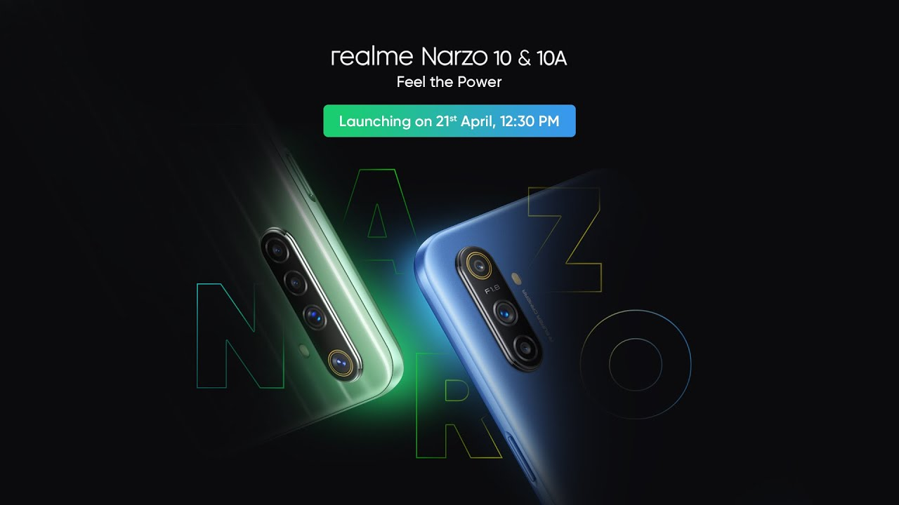 Buy RealMe Narzo 10 & 10 A Specification Price Details 21st April 2020