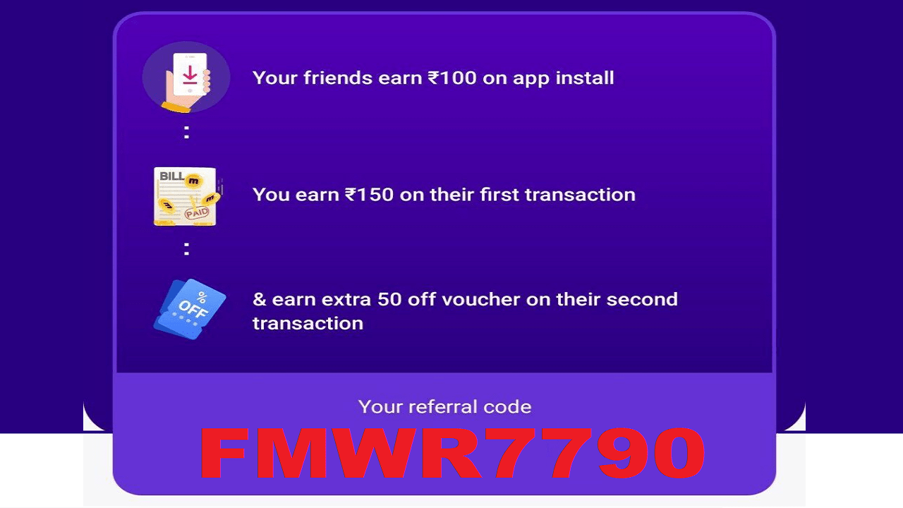 Download Magicpin Referral Code FMWR7790 Rs.40 Free Recharge