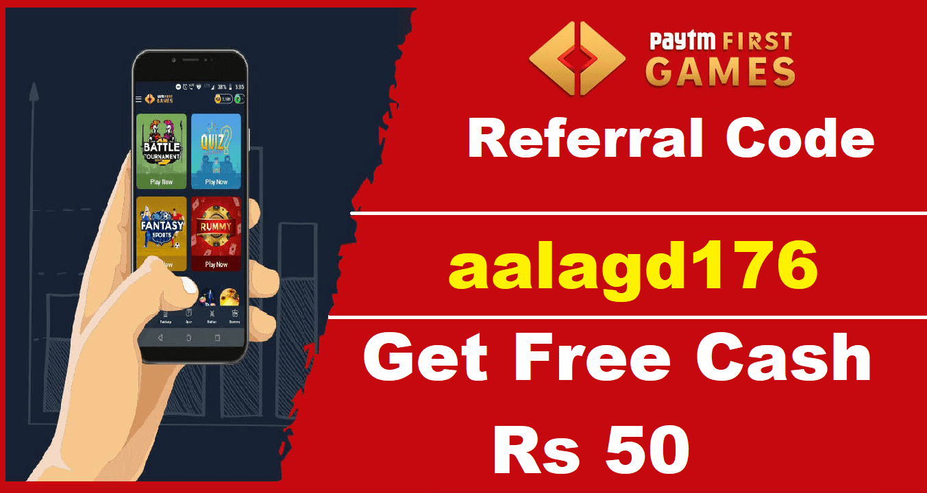 Download APK Pro PayTM First Games Referral Code ₹50 Free PayTM Cash