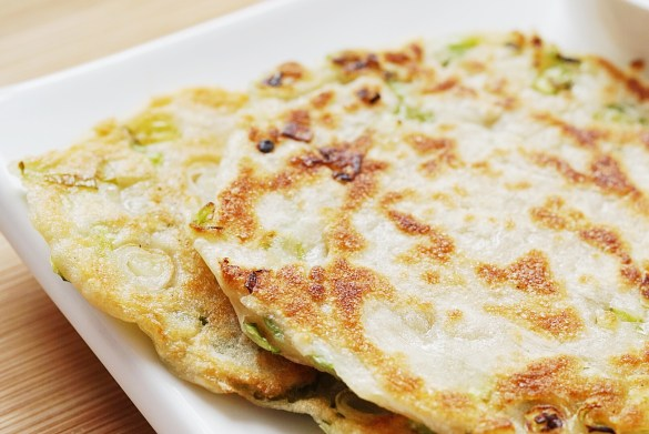 Scallion pancakes 2