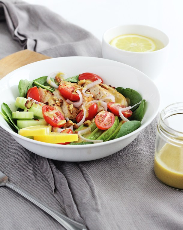 Chicken Salad with Honey Mustard