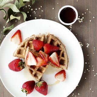 Gluten-Free Protein Chocolate Waffles